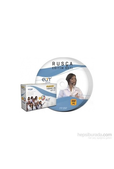 Elit Rusça Komple Görüntülü Eğitim Seti Tüm Seviyeler 12 DVD