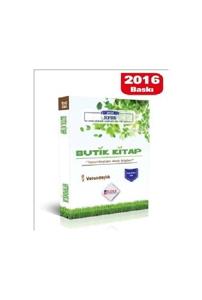 Lider Kpss 2016 Butik Kitap Vatandaşlık