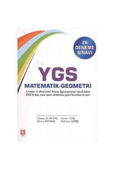 Ekin Ygs Matematik-Geometri (26 Deneme Sınavı)-Alirıza Bayram