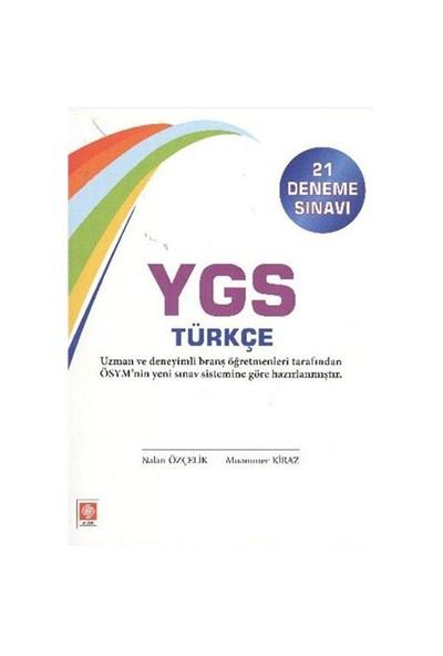 Ekin Ygs Türkçe (21 Deneme Sınavı)-Ceren Seyhan