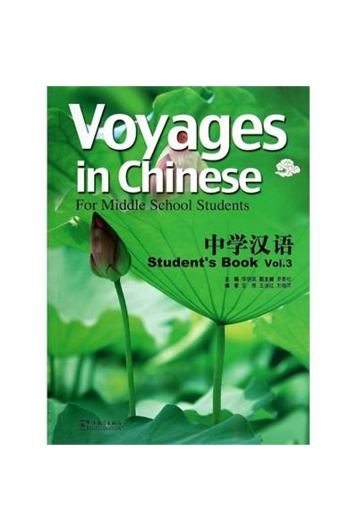 Voyages İn Chinese 3 Student'S Book (Gençler İçin Çince Kitap + Mp3 Cd)-Li Xiaoqi