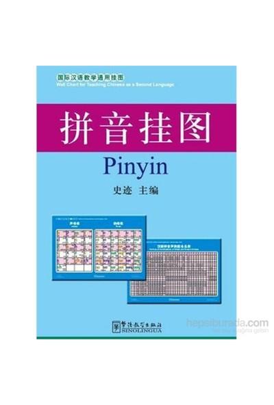 Pinyin Charts 52X76 Cm (Çince Fonetik Alfabesi Posterleri)-Kolektif