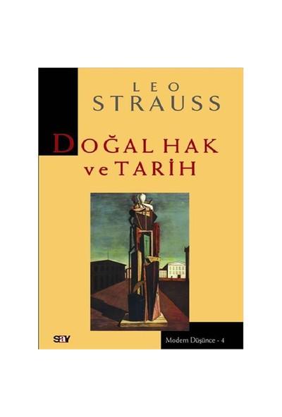 Doğal Hak Ve Tarih - Leo Streuss