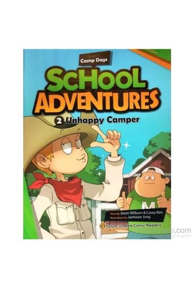 Unhappy Camper + Cd (School Adventures 1)-Jaehwan Jung