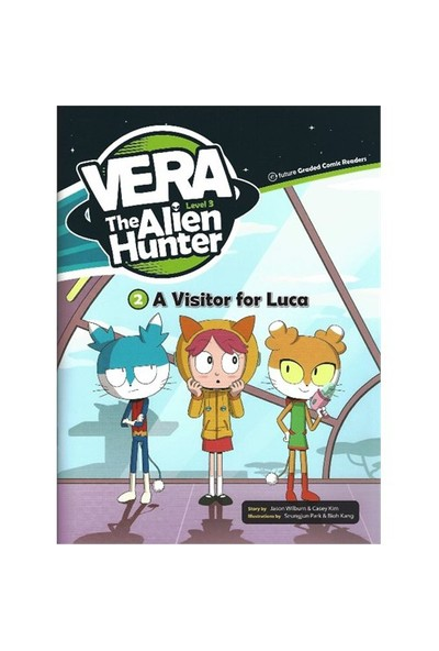 A Visitor For Luca (Vera The Alien Hunter 3)-Casey Kim