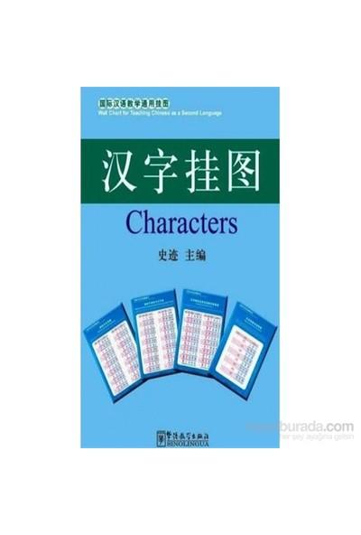 Characters Charts 52X76 Cm (Çince Karakterler Posterleri)-Kolektif