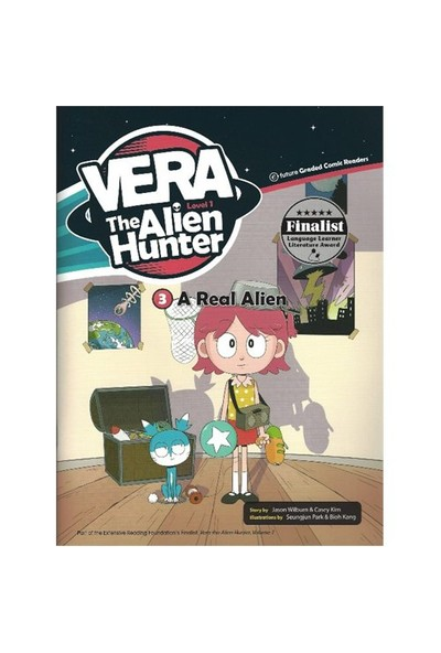 A Real Alien (Vera The Alien Hunter 1)-Casey Kim