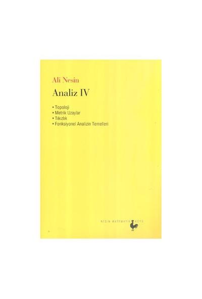Analiz IV - Ali Nesin