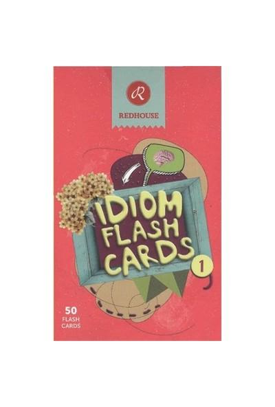 Redhouse Idiom Flash Cards 1 (İngilizce Deyim Kartları 1)-Kolektif