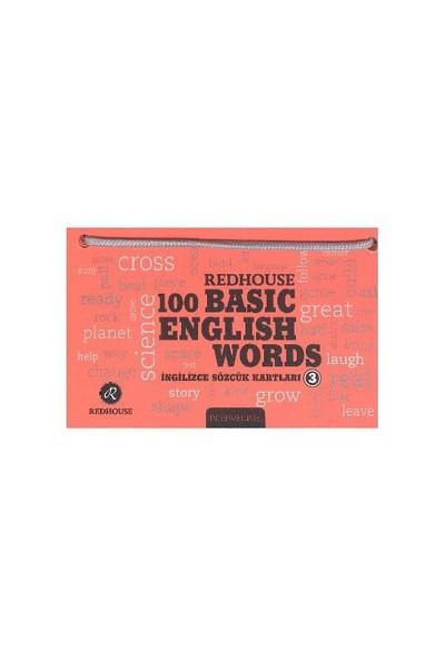 Redhouse 100 Basic English Words 3 Narçiceği-Kolektif