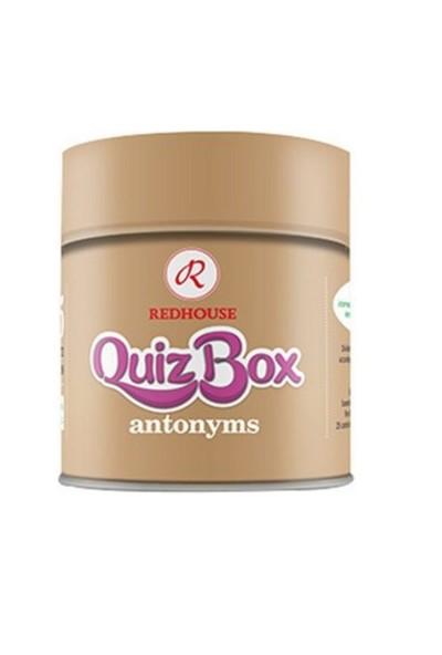 Redhouse Quiz Box Antonyms (İngilizce Zıt Anlamlı Kelime Kartları)-Kolektif