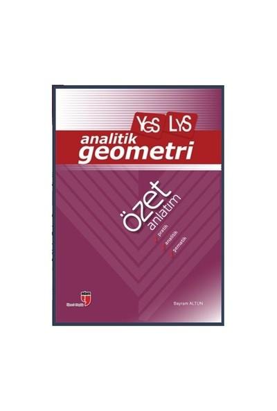 Edam Yayınları Ygs - Lys Analitik Geometri Özet Anlatım - Bayram Altun