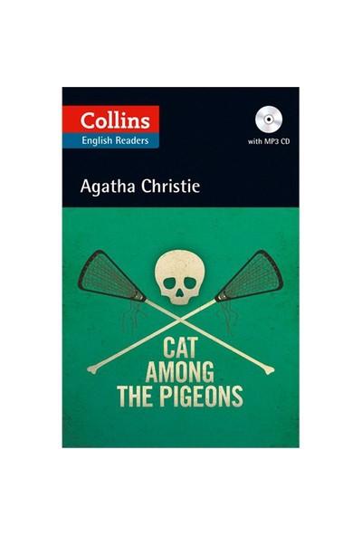 Cat Among The Pigeons +Cd (Agatha Christie Readers)-Agatha Christie