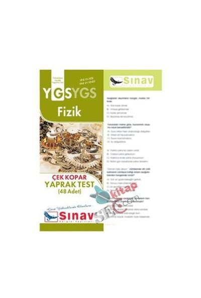 Sınav Dergisi Yayınları Ygs 2016 Fizik Yaprak Test (48 Test)-Kolektif