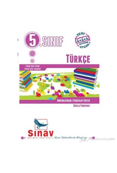 Sınav Dergisi 5.Sınıf Türkçe Konu Anlatımlı, Etkinlikler, Testler
