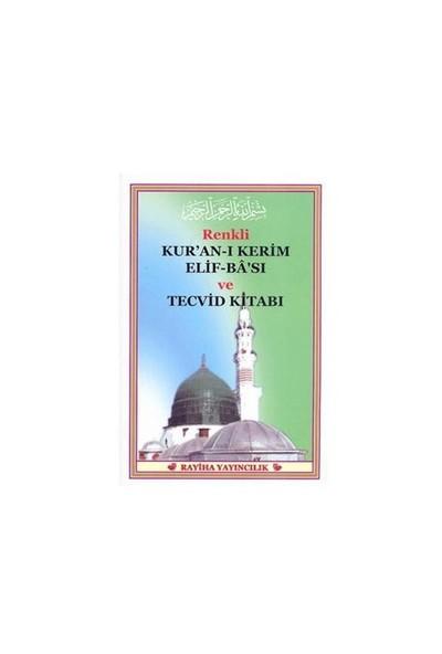 Renkli Kuran-ı Kerim Elif-ba'sı Ve Tecvid Kitabı