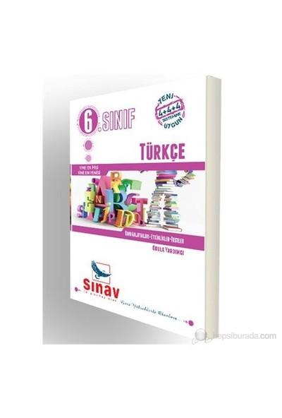 Sınav Dergi 6.Sınıf Türkçe Konu Anlatımlı