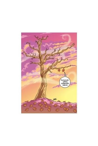 Penguen Küçük Defter: Romantik Yaprak