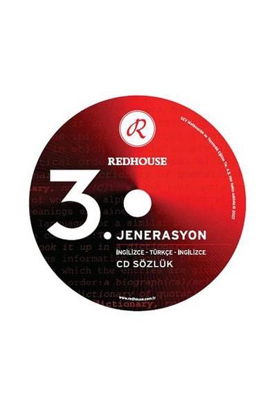 Redhouse 3. Jenerasyon İngilizce - Türkçe - İngilizce Cd Sözlük