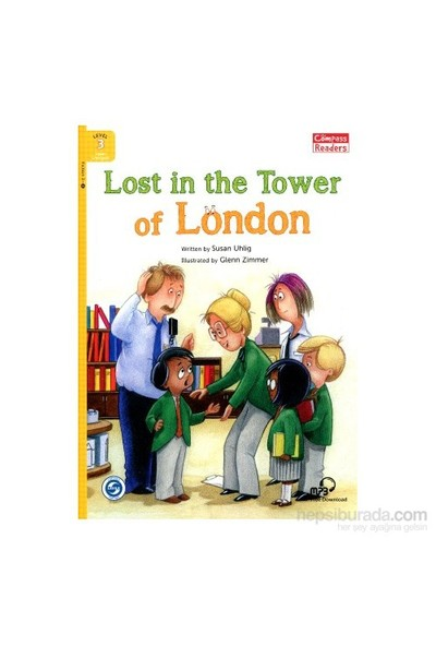Lost İn The Tower Of London +Downloadable Audio (Compass Readers 3) A1-Susan Uhlig