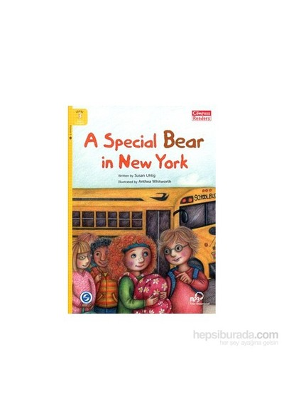 A Special Bear İn New York +Downloadable Audio (Compass Readers 3) A1-Susan Uhlig