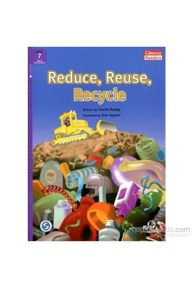 Reduce, Reuse, Recycle +Downloadable Audio (Compass Readers 7) B2 - Cecilia Reddy