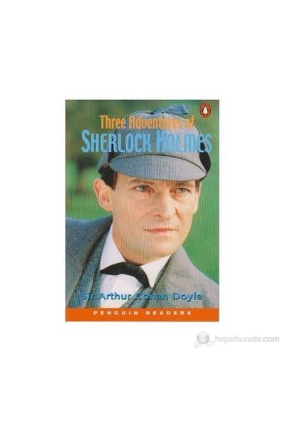 Three Adventures Of Sherlock Holmes