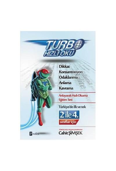 Turbo Hızlı Oku 2 İle 4. Sınıflar Dikkat Ve Hızlı Okuma (Tek Kitap)- Cahit Şimşek