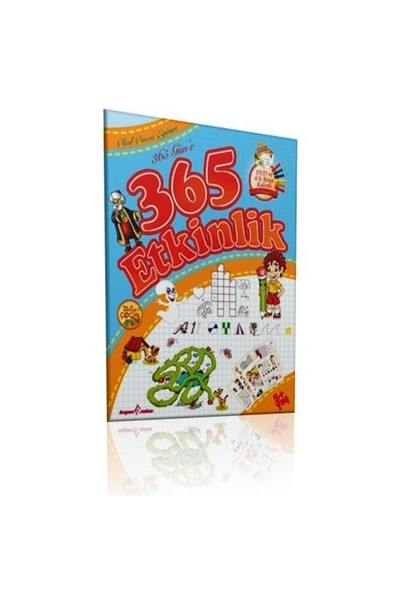365 Güne 365 Etkinlik (CD-ROM + Çıkartma + 6'lı Boya Kalemi Hediyeli)