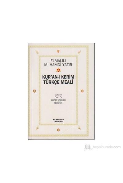 Kur'An-I Kerim Türkçe Meali (Cep Boy)-Elmalılı Muhammed Hamdi Yazır