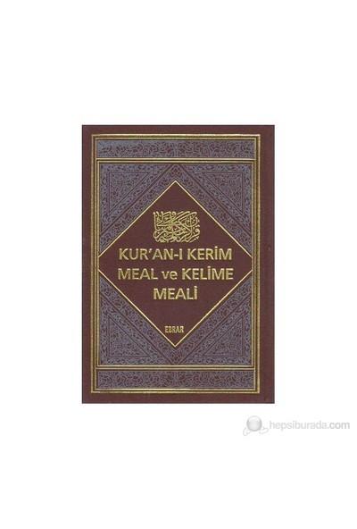 Kur'an-I Kerim Meal Ve Kelime Meali (2 Cilt Takım)