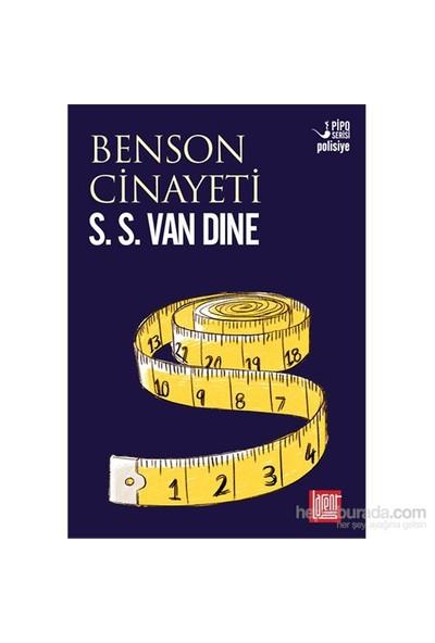 Benson Cinayeti-S. S. Van Dine