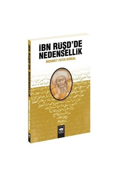 İbn Rüşd'De Nedensellik-Mehmet Fatih Birgül
