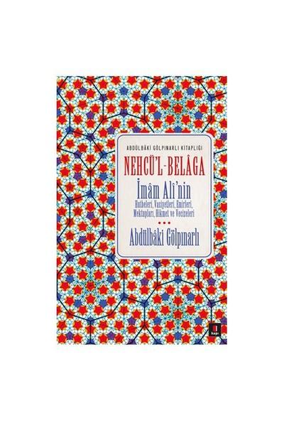 Abdülbaki Gölpınarlı Kitaplığı Nehcü'l Belaga - Abdülbaki Gölpınarlı