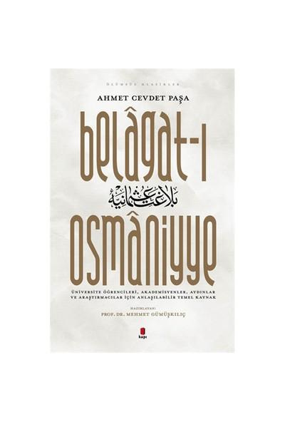 Belagat-I Osmaniyye-Ahmet Cevdet Paşa