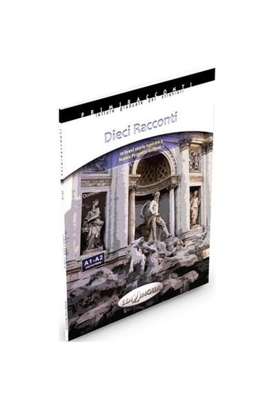 Dieci Racconti -İtalyanca Okuma Kitabı Temel Seviye(A1-A2) - M. Dominici