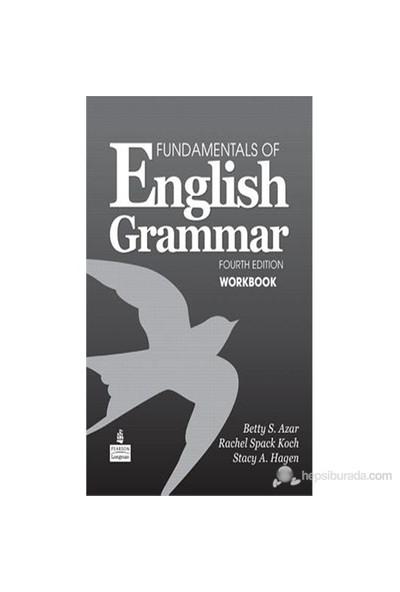 Pearson Fundamentals of English Grammar Fourth Edition Workbook - Rachel Spack Koch