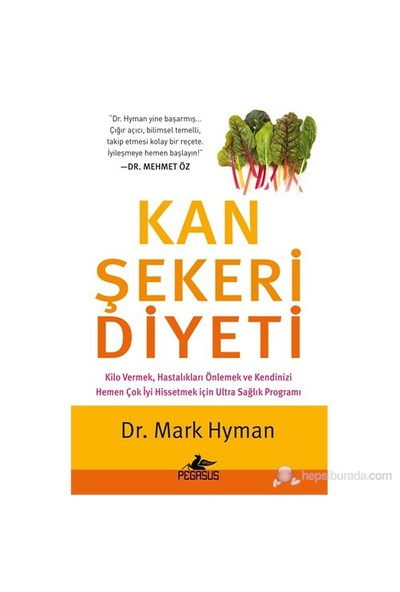 Kan Şekeri Diyeti - Mark Hyman