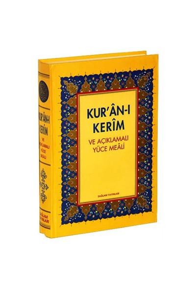 Kur'an-I Kerim Ve Açıklamalı Meal Türkçe Okunuşlu (Orta Boy) - Şevket Gürel