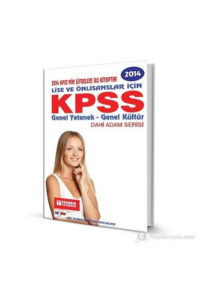 Kpss Hazırlık 2014 Lise-Önlisans Tek Kitap Dahi Adam Serisi-Kolektif