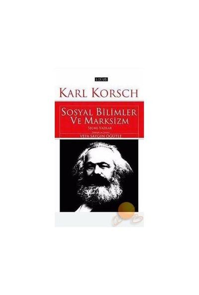 Sosyal Bilimler Ve Marksizm-Karl Korsch