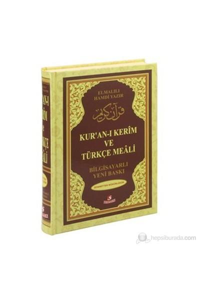 Kur'an-ı Kerim ve Türkçe Meali (Cami Boy, Bilgisayar Hatlı, Renkli) - Elmalılı Muhammed Hamdi Yazır