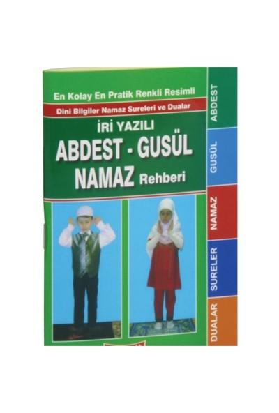 Resimli Abdest Gusül Namaz Rehberi (Cep Boy)-Kolektif