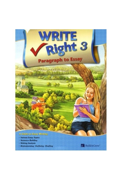 Write Right Paragraph To Essay 3 With Workbook-J. K. Johnson