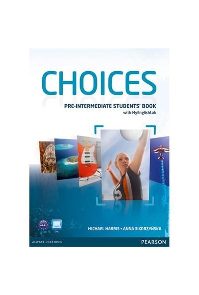 Pearson Yayınları Choices Pre - Intermediate Students Book