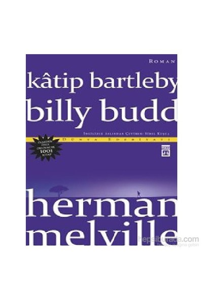 Katip Bartleby - Billy Budd-Herman Melville