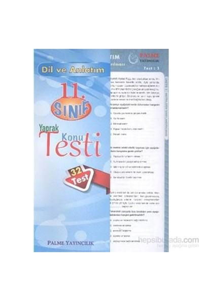 Palme 11.Sınıf Dil ve Anlatım Yaprak Konu Testi