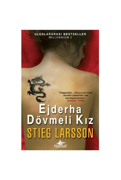 Ejderha Dövmeli Kız - Stieg Larsson