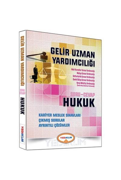 Yediiklim Yayınları Gelir Uzman Yardımcılığı 2016 Hukuk Soru Cevap