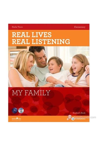Real Lives, Real Listening: My Family+CD B1-B2 Intermediate